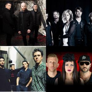 Bands and artists like Flyleaf