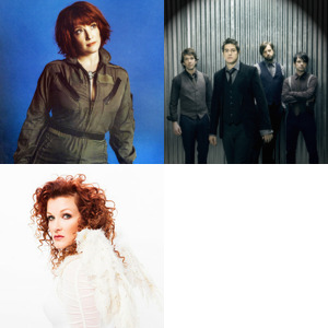 Bands and artists like Sixpence None The Richer