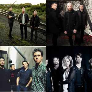 Bands and artists like Skillet