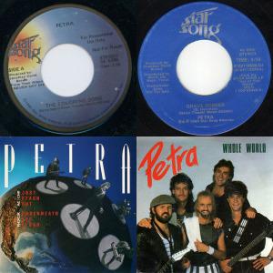 Petra singles & EP