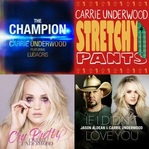 Carrie Underwood singles & EP