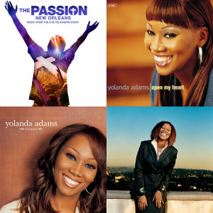 Yolanda Adams singles & EP